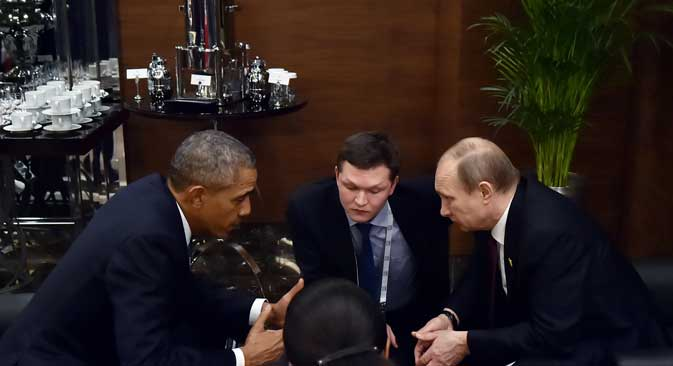 In mid-November President Vladimir Putin met with U.S.President Barack Obama on the sidelines of the G20summit in Turkish Antalya.