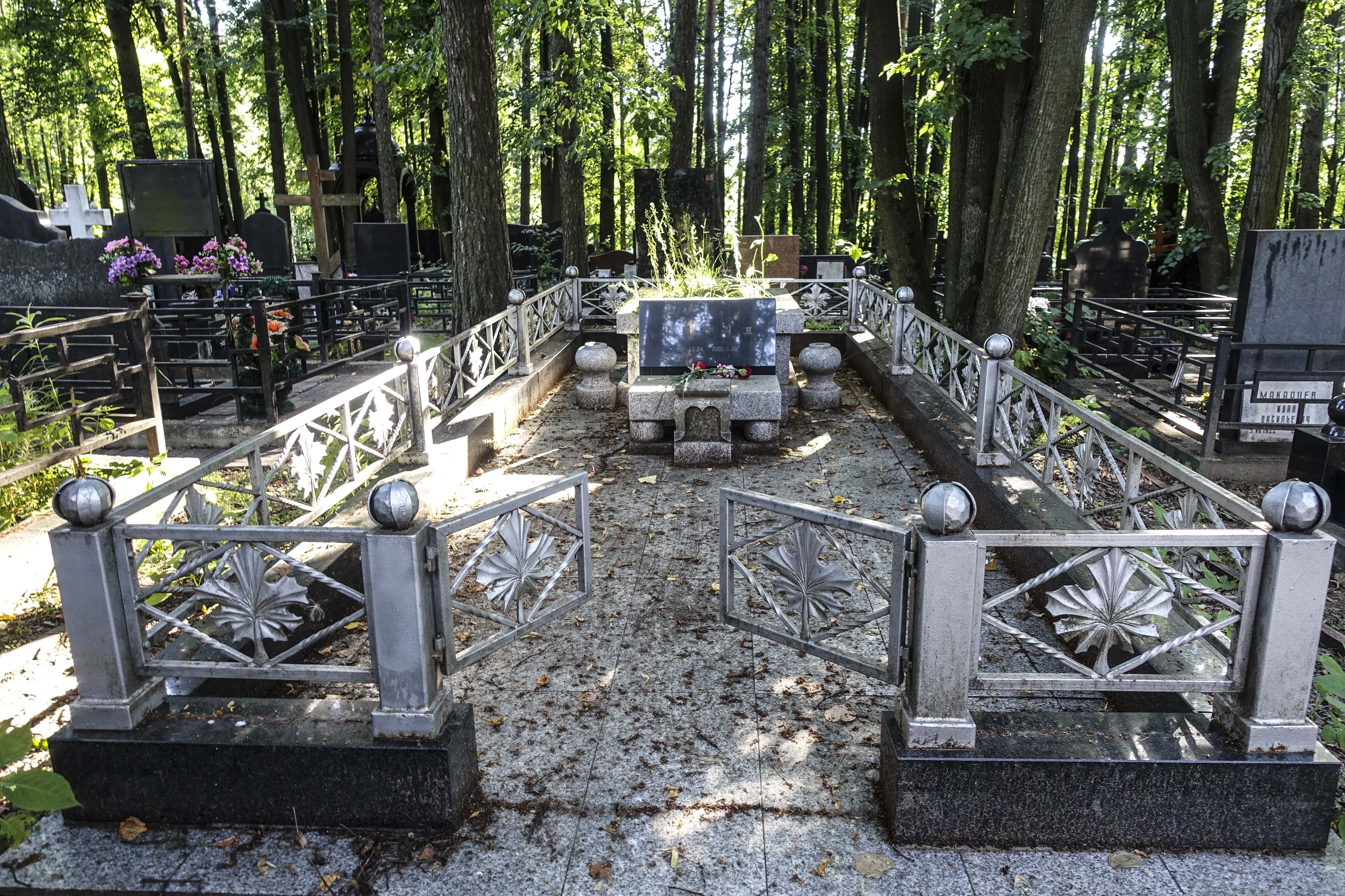 Song Hye-rim's grave at Moscow's Troyekurovskoye cemetery / Oleg Kiryanov