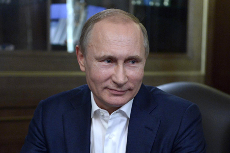 "Russian President Vladimir Putin: ""Russia and the European Union have come to a crossroads."""