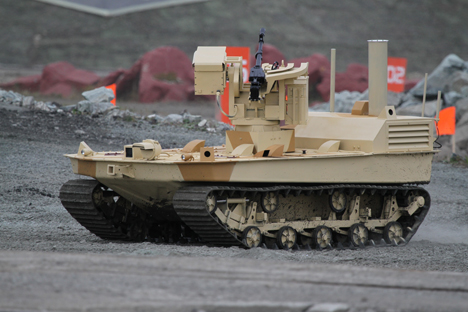 The Wolf-2 (Volk-2) mobile robotic system.