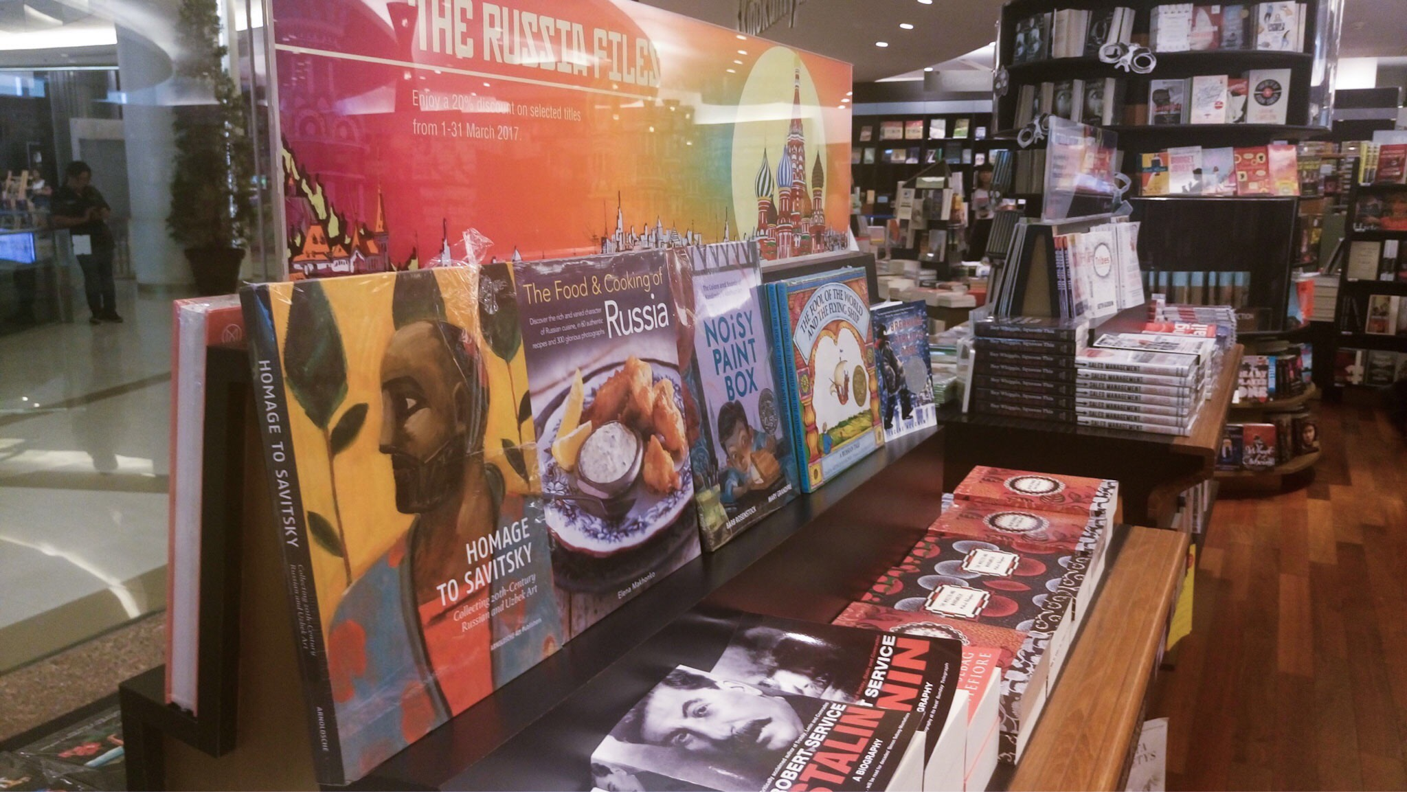Russia is now a popular theme for book-lovers in Thailand / Irina Vinokurova (Bangkok)