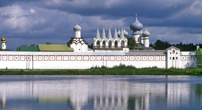 The Tikhvin Monastery.