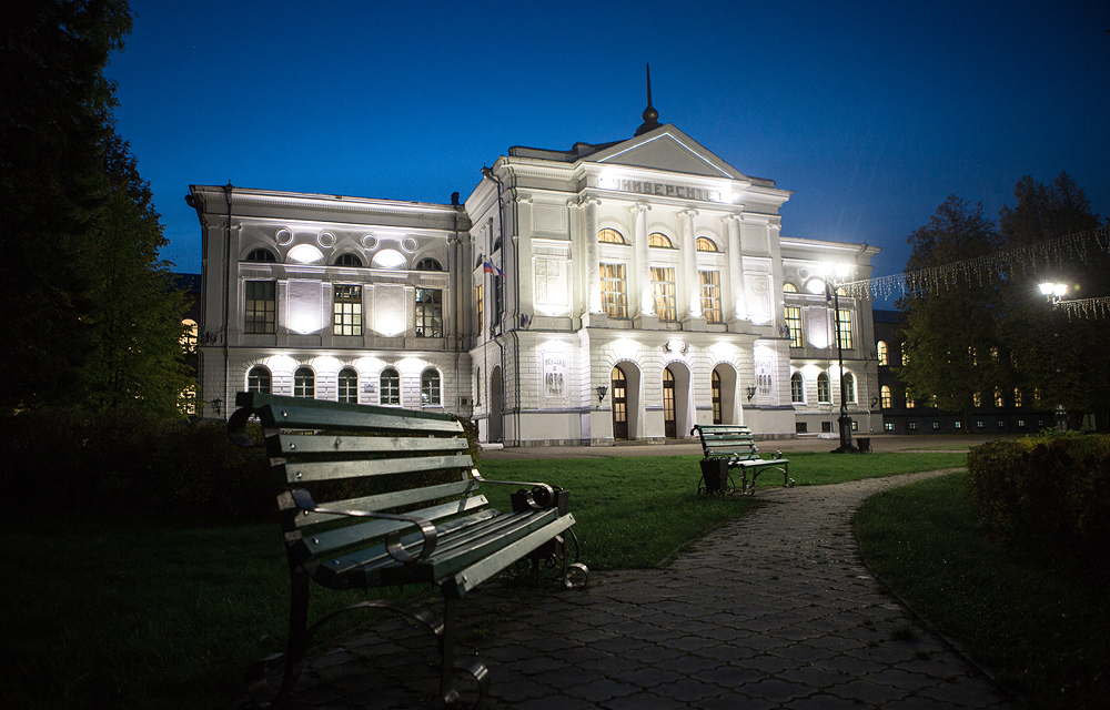 Tomsk State University is the oldest university in the Asian part of Russia.