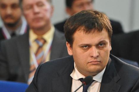 Andrêi Nikitin, 31, é diretor-geral da Agência de Iniciativas Estratégicas (AIE), um grupo criado no verão passado pelo primeiro-ministro da Rússia, Vladímir Pútin, para lidar com as preocupações de profissionais e donos de empresas Foto: ITAR-TASS