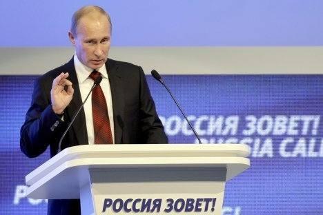 Vladímir Pútin Foto: AP