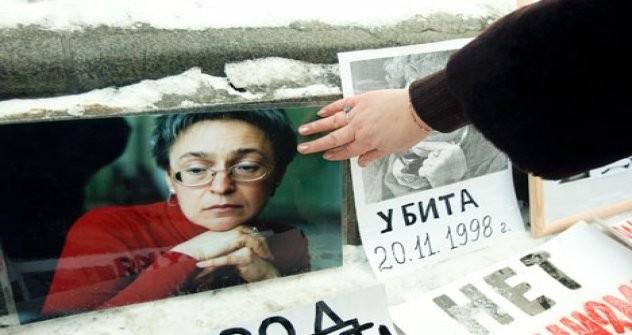 Anna Politkovskaia Foto: Rex Features/Fotodom