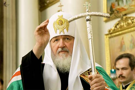 O Primaz da Igreja Ortodoxa Russa, Patriarca Kirill Foto: Assessoria de imprensa da Igreja Ortodoxa Russa