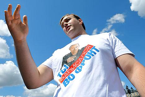 O partido Rússia Unida definiu as prioridades de trabalho da Duma Foto: Kommersant