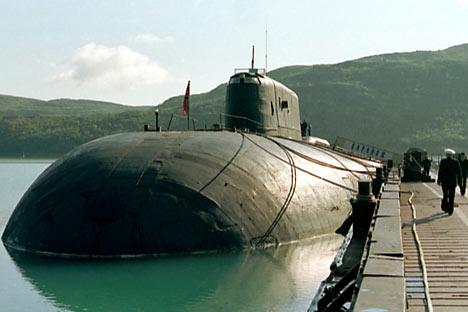 "Submarino atômico ""Voronej""  (projeto Antei)  Foto: TASS"