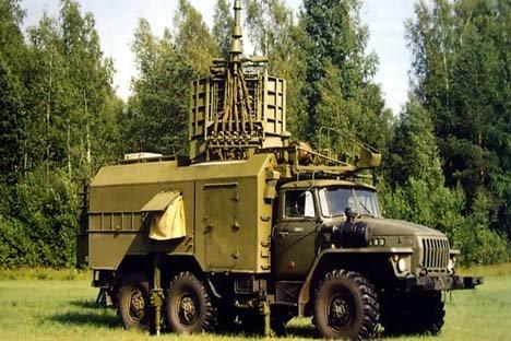 Stema radioeletrônico de fabricação russa Avtobaza Foto: rusarmy.com