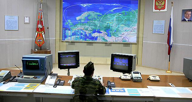 Sala de controle de defesa antimíssil Foto: TASS