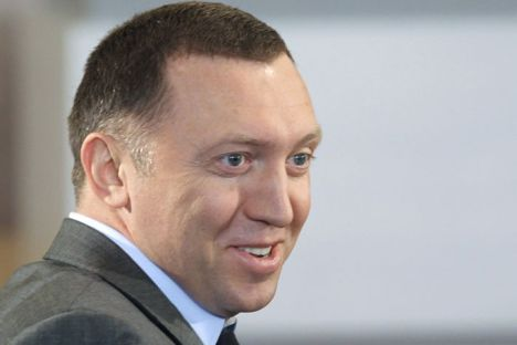 Mr Deripaska is laughing all the way to the bankSource: RIA Novosti