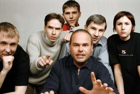 Jewgenij Kaspersky und sein Team