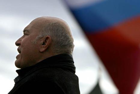 Der Ex-Bürgermeister Moskaus Jurij Luschkow