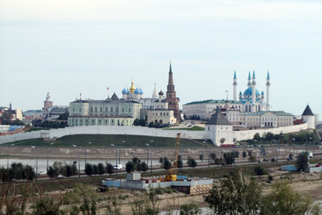 Kazan skyline. Photos by Evy Hua