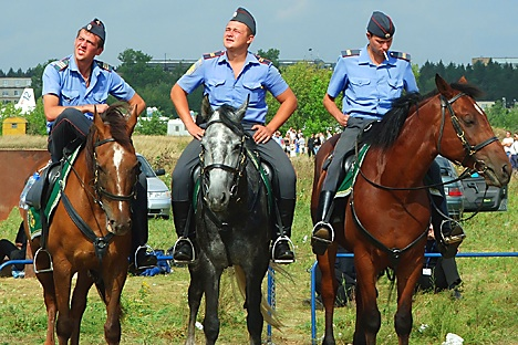 """Vom """"Freund und Helfer"""" meist noch weit entfernt: die Polizei in Russland, Milizija genannt.          Foto: LegionMedia"""
