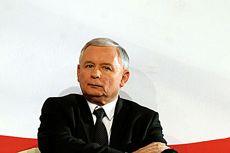 Jaroslaw Kaczynski, leader of Poland's conservative PiS party. Source: AFP EastNews