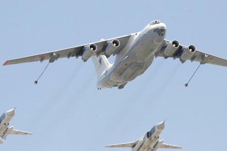 Il-78 aerial tanker. Source: RIA Novosti