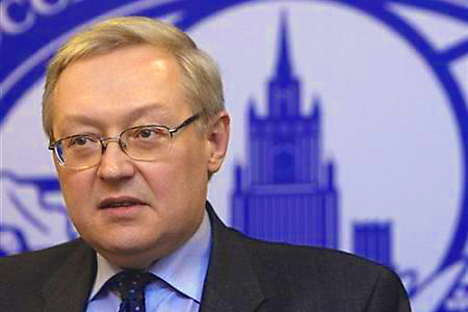 Russia's Deputy Foreign Minister Sergei Ryabkov. Source: Reuters/Vostock-photo