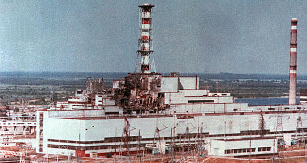 Tschernobyl nach dem Unglück Foto: AP