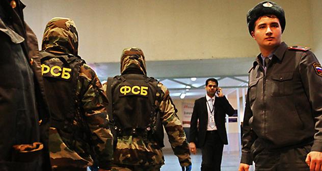 Spezialeinheiten auf der Spur der Täter. Foto: RIA