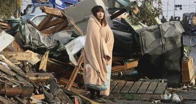 Japan, nach dem Tsunami. Foto: Reuters/Vostok Photo