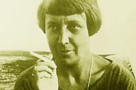 Marina Tsvetáieva. Foto de Itar-Tass