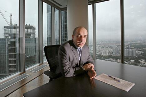 O bilionário russo Iúri Milner/Foto: Kommersant