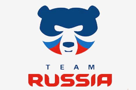 Emblema del equipo ruso para los juegos olímpicos de Sochi