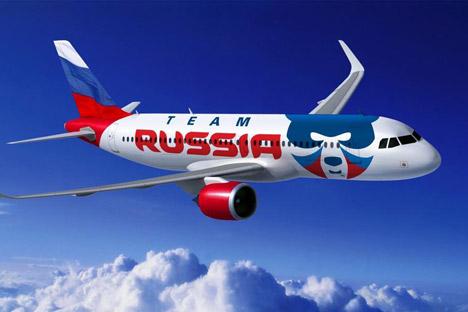 Fotos de Mildberry. El oso es el nuevo logotipo del Russia Team