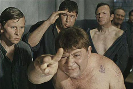 "A screenshot of the movie ""Gentlemen of Fortune"""