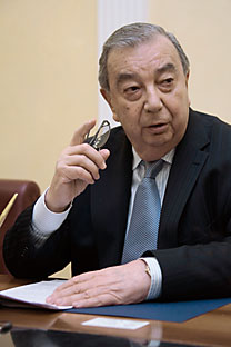 Yevgeny Primakov, president of the Russian Chamber of Commerce and Industry, academic and member of the Russian Academy of Sciences. Source: RIA Novosti