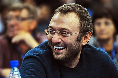 Billionaire Suleiman Kerimov is close to creating a national potash mining champion. Source: Itar Tass
