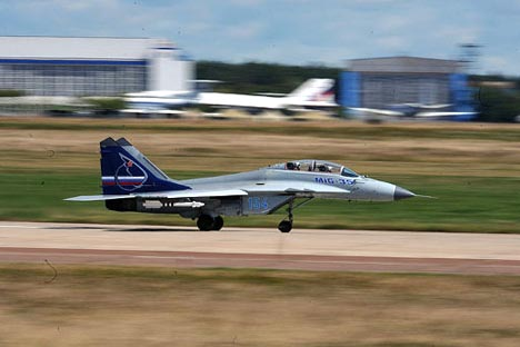 Moscow earlier said if MiG-35 wins the tender, Russia is ready to transfer all key technology to India's Hindustan Aeronautics Ltd. and provide assistance for the production of the aircraft in the country. Source: RIA Novosti