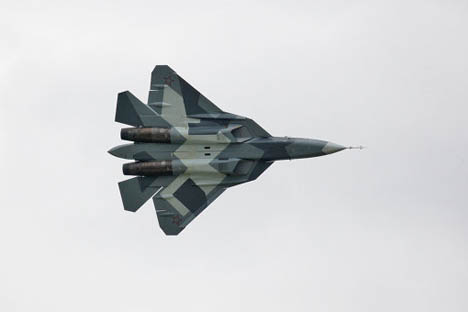 T-50 fighter jet. Source: RIA Novosti
