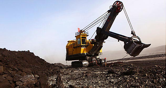 Mongolia sits on vast quantities of untapped mineral wealth. Source: AFP/EastNews