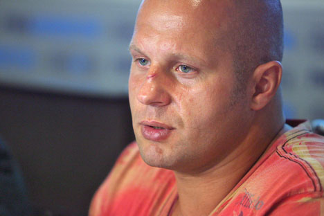 Fedor Emelianenko. Photo: Kommersant