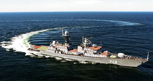 Three Talwar-type frigates were built by Baltiysky Zavod in St Petersburg and delivered to the Indian Navy in 2003–2004.