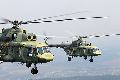 Mi-17. Source: RIA Novosti