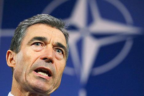 Secretary-General of NATO Anders Fogh Rasmussen. Source: Reuters