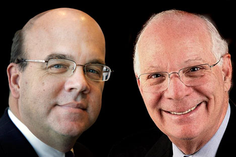 Rep. James McGovern (left) and Sen. Ben Cardin