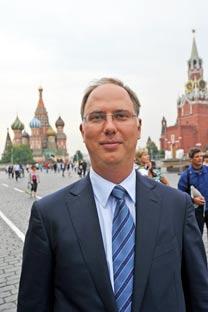 Kirill Dmitriev. Photo by Ben Aris