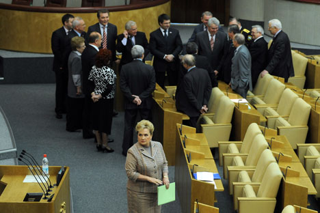 State Duma. Photo by ITAR-TASS