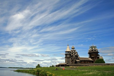 Wooden miracles in Kizhi