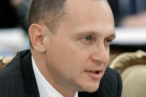 Sergey Kiriyenko, the head of Rosatom. Source: RIA Novosti