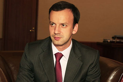 Arkady Dvorkovich.   Photo by Nikolay Korolyov