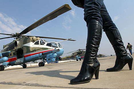 Helicopter Mi-24.   Source: RIA Novosti