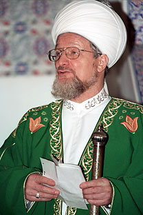 Talgat Tadjutdin, the Supreme Mufti of Spiritual Directorate of Russia's Muslims.