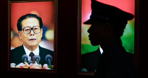 Jiang Zemin. Photo: Reuters