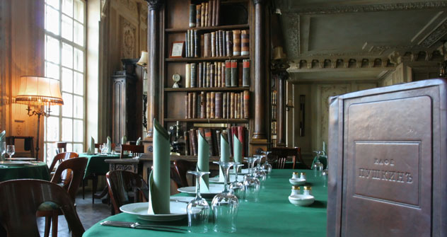 """Library"" hall at Cafe Pushkin. Source: ITAR-TASS"